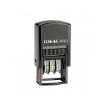 Trodat 4850 Date Stamp Self Inking 24x5mm Rectangle Dater