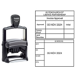 Trodat 5480 Date Stamp Self Inking 66x45mm Rectangle Heavy Duty