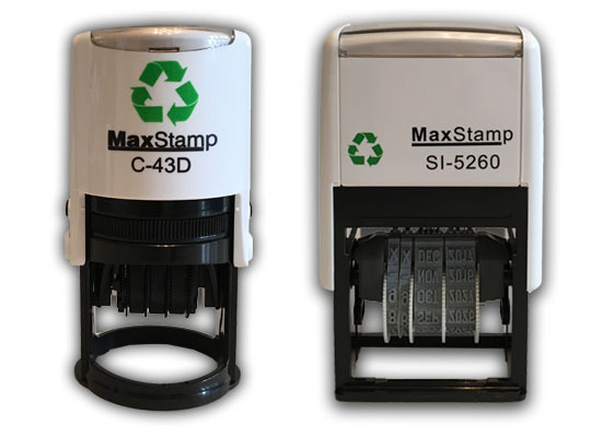 MaxStamp Self Inking Daters