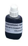 Endorsing Ink 2oz - 57ml For use with Traditional Rubber Stamp Pads