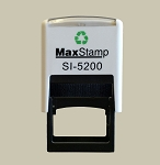 MaxStamp 5200 Self Inking Stamp 28x6mm Maxum SI-5200