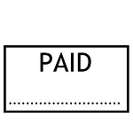 PAID Stamp - 46x16mm - Self Inking - Ready Made - Max 2