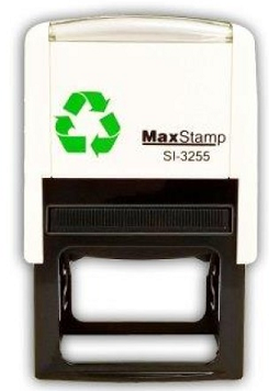 MaxStamp SI-3255 Self Inking Stamp 52x31mm Maxum 3255 - 7 Lines