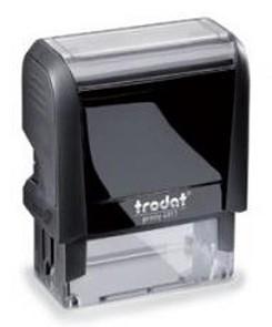 trodat printy 4911 self inking stamp 36x13mm 6 4911