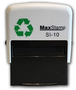 MaxStamp SI-10 Self Inking Stamp 36x13mm Max 1 - 4 Lines