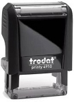 Trodat 4910 24x7mm 3 Line NHS / Doctor / Nurse Self Inking Stamp 24x7mm Printy 4910