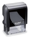 Trodat Printy 4911 Self Inking Stamp 36x13mm 6/4911