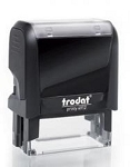 Trodat Printy 4912 Self Inking Stamp 45x16mm 6/4912