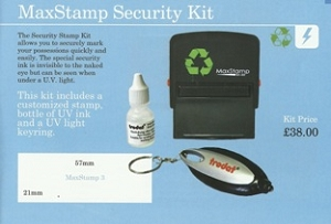 What's the point of a security marking stamp?