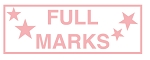 Teacher Stamp FULL MARKS Self Inking Stamp 46X16mm MaxStamp SI-20