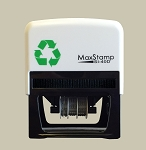 MaxStamp 4/D 73x35mm Custom Date Stamp Self Inking Maxum SI-40D