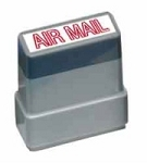 AIR MAIL - Red - Ready Made Rubber Stamp MaxStamp MS10
