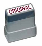 ORIGINAL - Red - Ready Made Rubber Stamp MaxStamp MS19