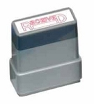 RECEIVED - Red - Ready Made Rubber Stamp MaxStamp MS03