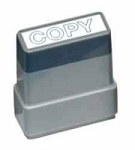 COPY - Blue - Ready Made Rubber Stamp MaxStamp MS06