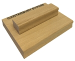Custom Rubber Stamp 150x50mm RS22 Traditional Style