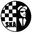 SKA Hand Stamp Ready Made 28mm Round Maxum SI-C30 Nightclub Pub Event Stamp