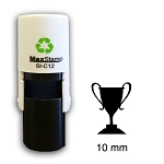 TROPHY Loyalty Card Stamp 10mm Square Self Inking Maxum SI-5205