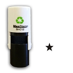 Star Loyalty Card Stamp10mm Round C12 Self Inking Maxum SI-C12