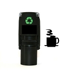 Coffee Cup Loyalty Card Stamp10mm Round C12 Self Inking Maxum SI-C12