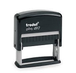 Trodat Printy 4917 Self Inking Stamp 48x8mm 6/4917