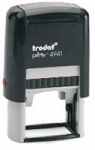 Trodat Printy 4941 Self Inking Stamp 40x24mm 6/4941