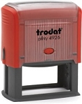 Trodat Printy 4926 Self Inking Stamp 73x35mm 6/4926