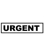 URGENT Stamp - 46x16mm - Self Inking - Ready Made - Max 2