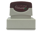 MaxLight Pre Inked Custom Stamp XL115 - 47x15mm