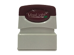 MaxLight Pre Inked Custom Stamp XL75 - 38x10mm