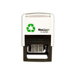 MaxStamp 3255 Dater 50x30mm Self Inking Date Stamp SI-3255