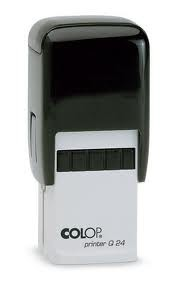 Colop Printer Q30 28X28mm Square Premium Quality Self Inking Stamp  Custom Made and Personalised with your text / logo