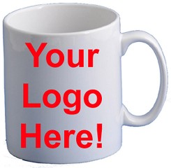 Personalised Mugs Printed with your Logo, Text or Photo Custom Made