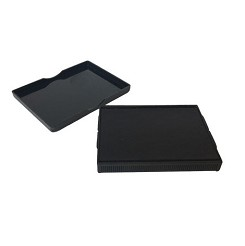 Small and long lasting ink pad for use with Traditional Rubber Stamps up to 53X36mm in size