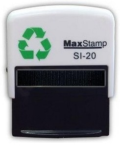 Custom Made Stamp - MaxStamp SI-20 46x16mm - You can add text up to 5 lines with 25 characters on each line and a logo if required. Only fill in the fields you need and we will create the artwork and email you a PDF preview to check and approve. Once you approve the artwork your stamp will be made and posted the same day if approved before 11am or the next working day (M-F)