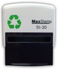 Custom Made Stamp - MaxStamp SI-30 57x21mm - You can add text up to 6 lines with 25 characters on each line and a logo if required. Only fill in the fields you need and we will create the artwork and email you a PDF preview to check and approve. Once you approve the artwork your stamp will be made and posted the same day if approved before 11am or the next working day (M-F)